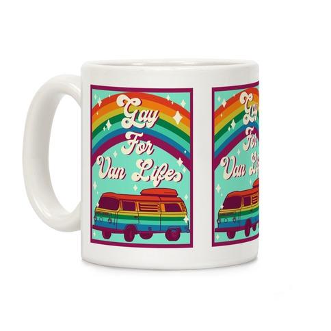 Gay For Van Life Coffee Mug