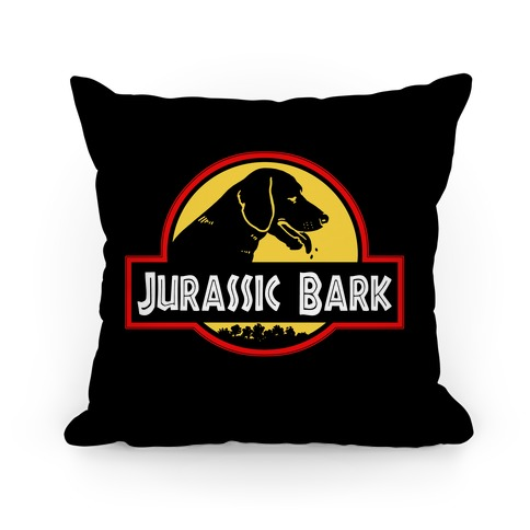 Jurassic Bark Pillow
