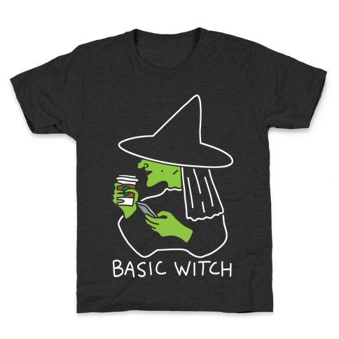 Basic Witch Kids T-Shirt