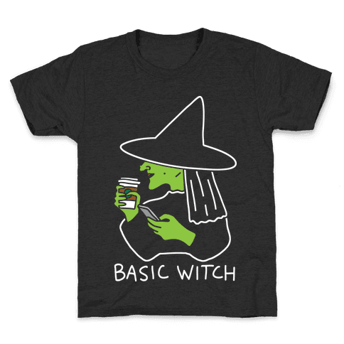 Basic Witch Kids T-Shirt