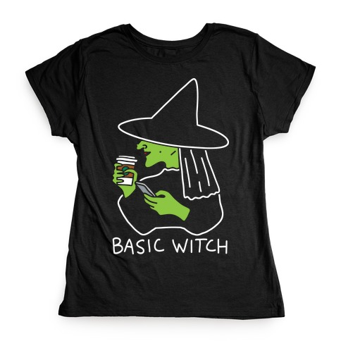 Basic Witch Womens T-Shirt