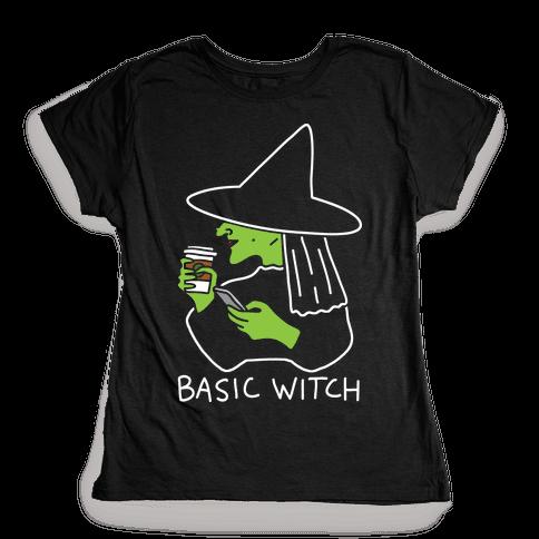 Basic Witch Womens T-Shirt