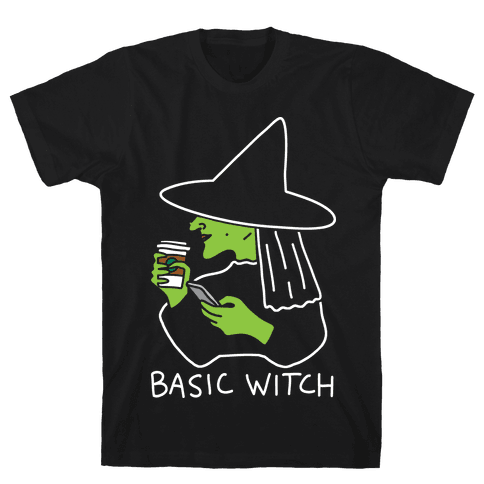 Basic Witch Mens T-Shirt