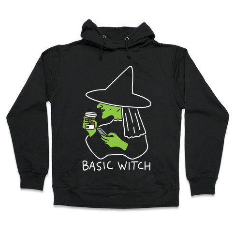 Basic Witch Hooded Sweatshirt