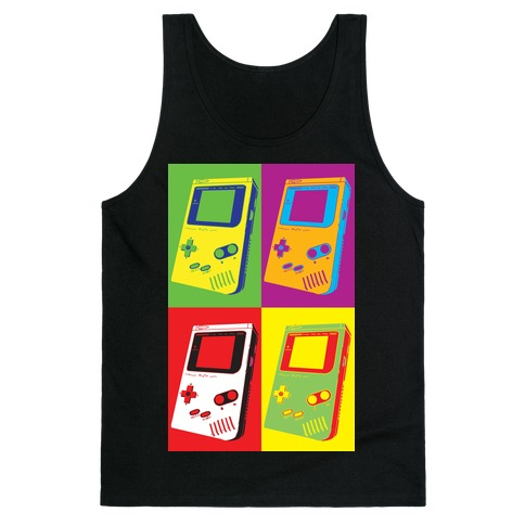 Gameboy Pop Art Pattern Tank Top
