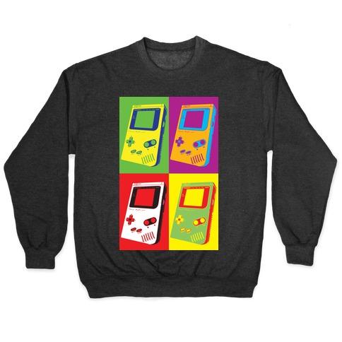 Gameboy Pop Art Pattern Pullover