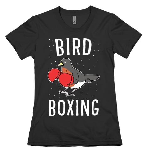 Bird Boxing Womens T-Shirt