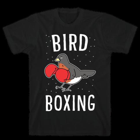 Bird Boxing Mens T-Shirt