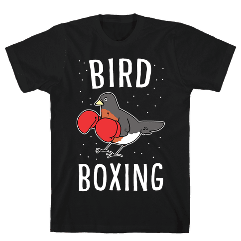 Bird Boxing Mens T-Shirt