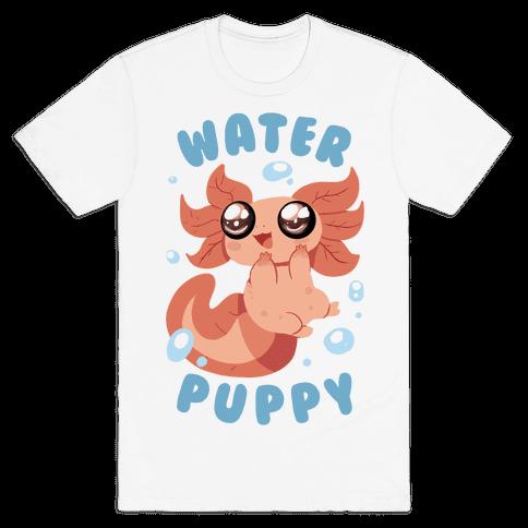 Water Puppy Axolotl Mens T-Shirt