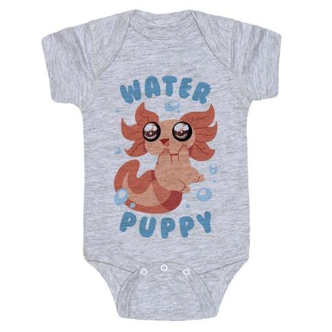 Water Puppy Axolotl Baby Onesy