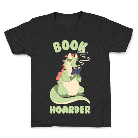 Book Hoarder Kids T-Shirt