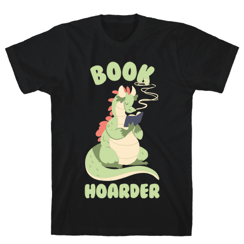 Book Hoarder Mens T-Shirt