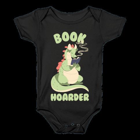 Book Hoarder Baby Onesy