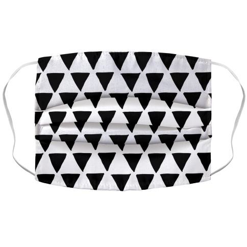 Triangle Pattern Accordion Face Mask