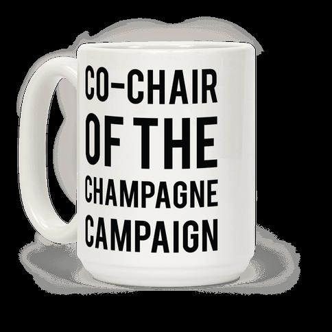 Champagne Campaign Black