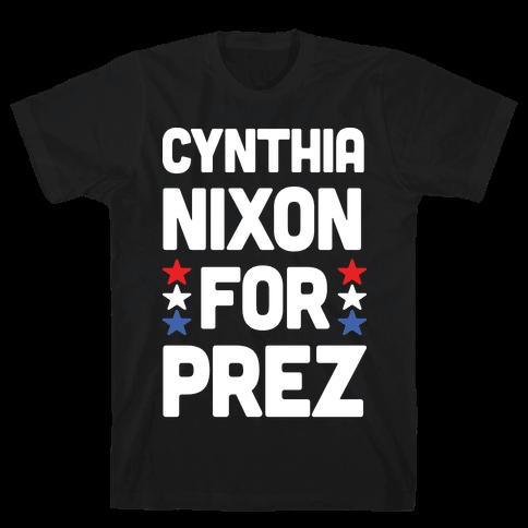 Cynthia Nixon For Prez Mens T-Shirt