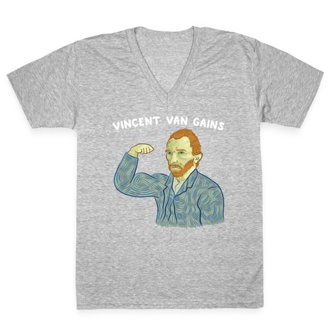Vincent Van Gains V-Neck Tee Shirt
