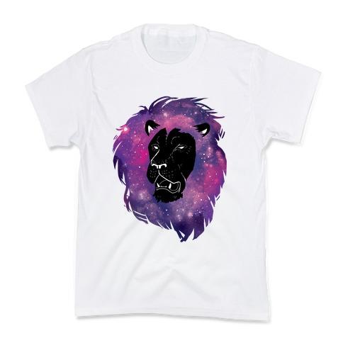 Galaxy Lion Kids T-Shirt