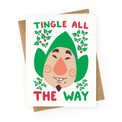 Tingle All the Way Greeting Card