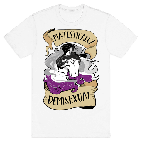 Majestically Bisexual Mens T-Shirt
