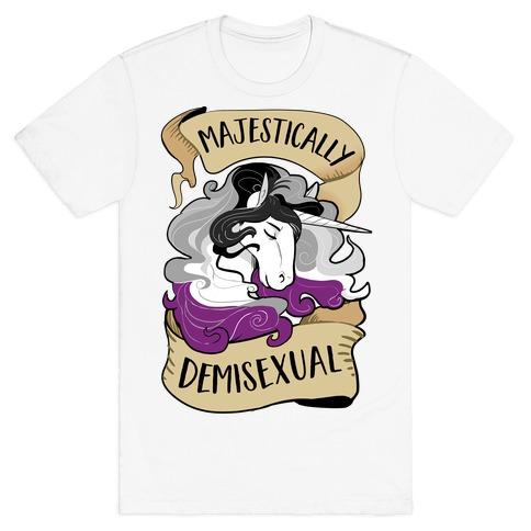 Majestically Demisexual Unicorn T-Shirt