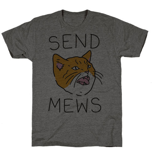Send Mews Mens T-Shirt