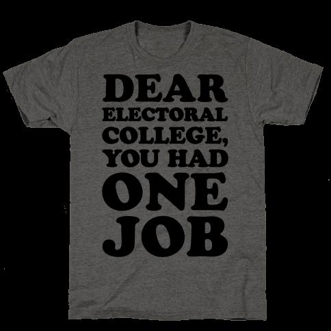 Electoral College You Had One Job
