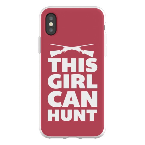 This Girl Can Hunt Phone Flexi-Case