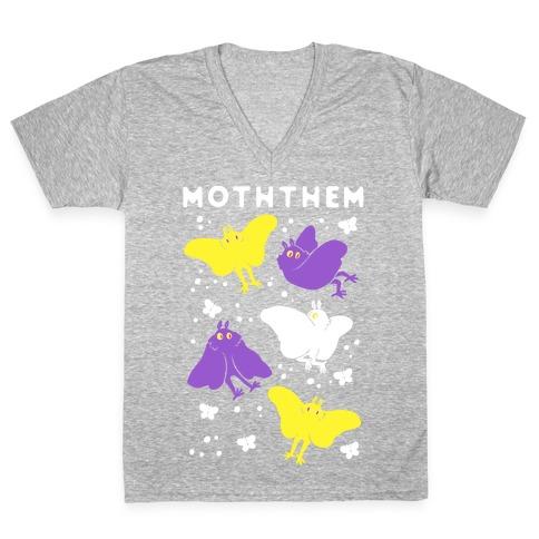 Moththem V-Neck Tee Shirt