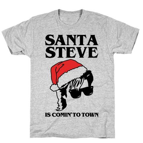 Santa Steve Parody T-Shirt