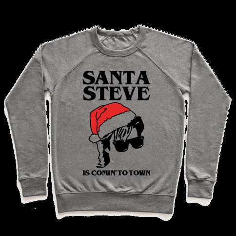 Santa Steve Parody Pullover