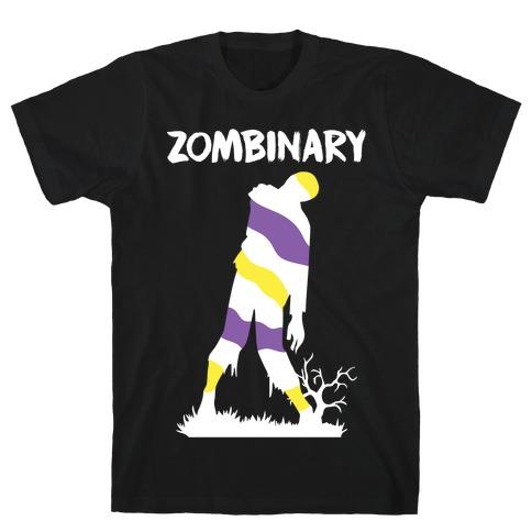 Zombinary Nonbinary Zombie T-Shirt