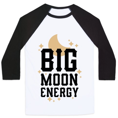 Big Moon Energy Baseball Tee