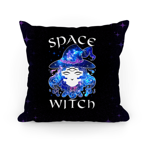 Space Witch Pillow