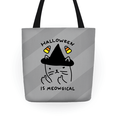 Halloween Is Meowgical Tote