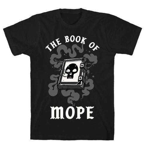 The Book Of Mope Black Magic Mens/Unisex T-Shirt