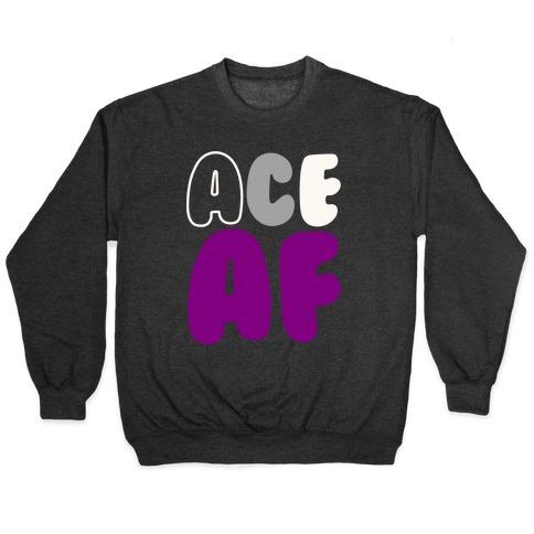 Ace Af White Print Pullover