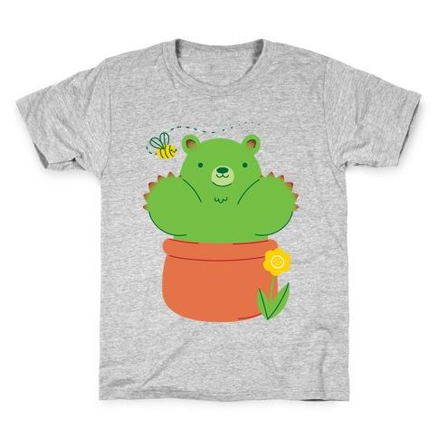 Bear Paw Cactus Kids T-Shirt