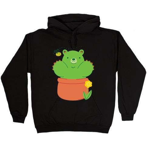 Bear Paw Cactus Hooded Sweatshirt