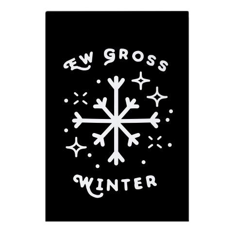 Ew Gross Winter Garden Flag
