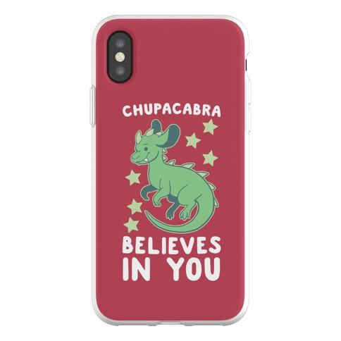Chupacabra Believes In You Phone Flexi-Case