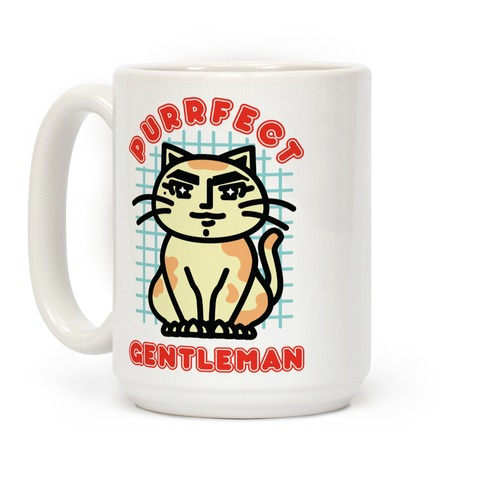 Purrfect Gentleman Coffee Mug