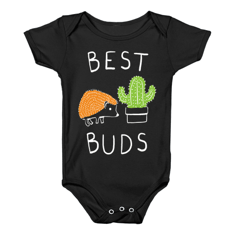Best Buds Hedgehog Cactus Baby Onesy