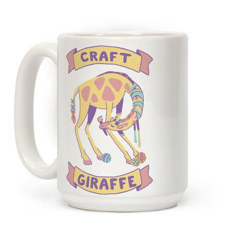 Craft Giraffe Coffee Mug