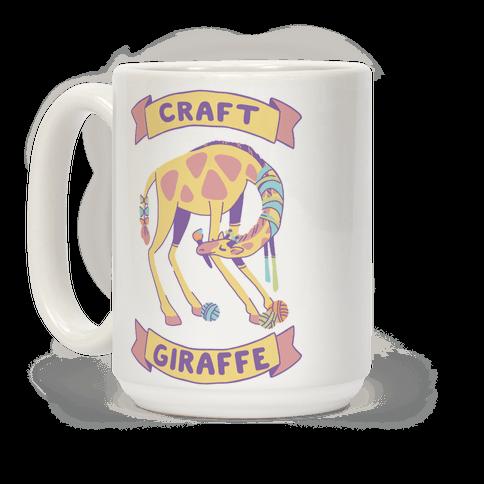 Craft Giraffe  Coffee Mug