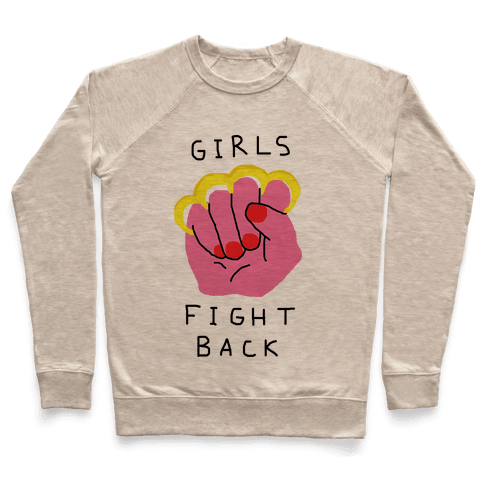 Girls Fight Back Pullover
