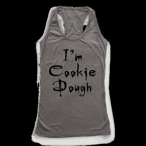 I'm Cookie Dough Racerback Tank Top