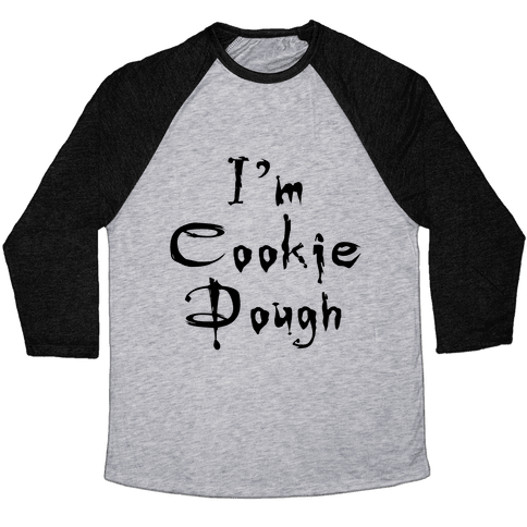I'm Cookie Dough Baseball Tee