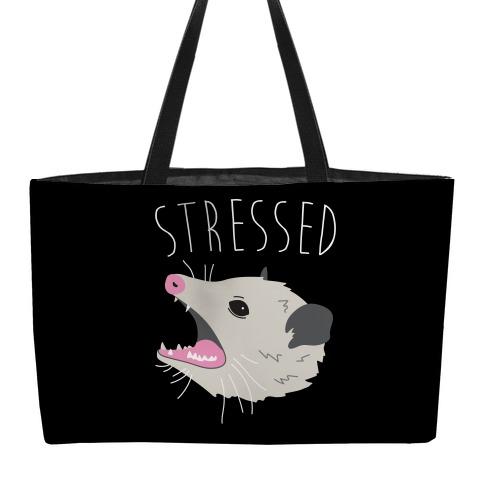 Stressed Opossum Weekender Tote